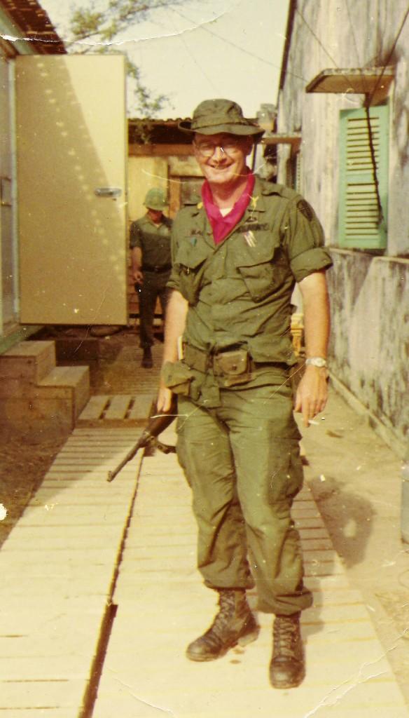 Major Black, Rach Kien, Vietnam November 1967