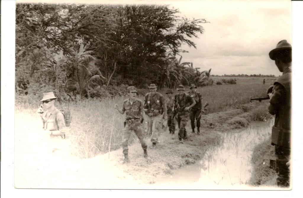 Major Black, military advisor, Vietnam 1967